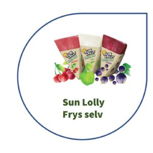 Sun Lolly Frys selv